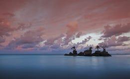 Señal de Boracay Fotos de archivo libres de regalías