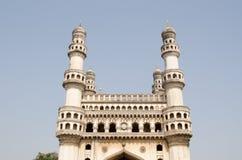 Señal de Charminar, Hyderabad Imagen de archivo libre de regalías