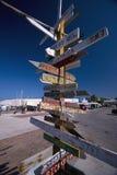 Señal de dirección, Key West, la Florida foto de archivo libre de regalías