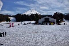 señal de Japón de la nieve Fotografía de archivo libre de regalías