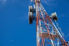 Señal de la antena. Fotos de archivo libres de regalías