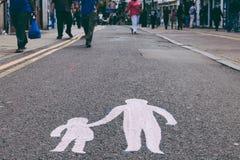 Señal de la calle Imágenes de archivo libres de regalías