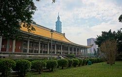 Señal de la ciudad de Taipei foto de archivo libre de regalías