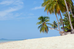 Señal de la isla de Koh Samui de la playa de Baan Tai Imagen de archivo