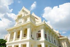 Señal de la universidad de Chulalongkorn, primera universidad de Thail Imagen de archivo libre de regalías
