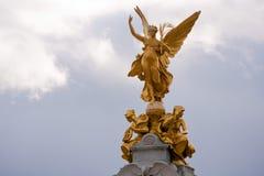 Señal de la victoria de Londres Imagen de archivo