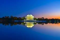 Señal de los E.E.U.U., Washington DC Fotografía de archivo libre de regalías