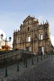 Señal de Macau Foto de archivo