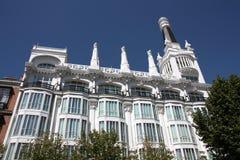 Señal de Madrid Fotografía de archivo