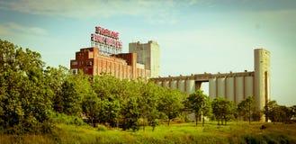 Señal de Montreal Imagenes de archivo