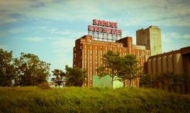 Señal de Montreal Fotos de archivo libres de regalías