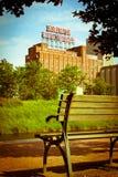 Señal de Montreal Imagen de archivo
