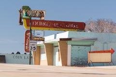 Señal de neón de Sahara Lounge fotos de archivo libres de regalías
