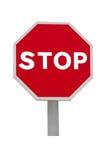 Señal de parada Imagen de archivo libre de regalías