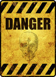 Señal de peligro Foto de archivo