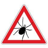 Señal de peligro de la señal Imagen de archivo