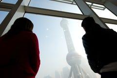 Señal de Shangai Imagenes de archivo