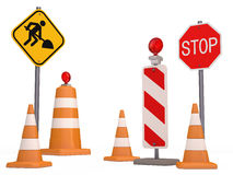 Señal de tráfico Imagen de archivo libre de regalías