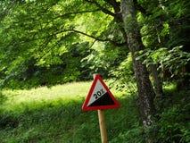 Señal de tráfico Foto de archivo