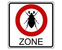 Señal de tráfico del abejorro Imagen de archivo