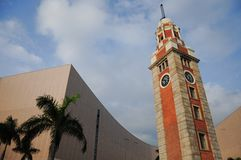 Señal de Tsim Sha Tsui, Hong-Kong Foto de archivo libre de regalías