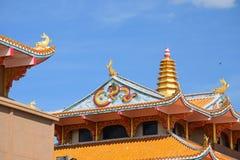 Señal del chino en Tailandia Fotos de archivo