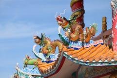 Señal del chino en Tailandia Imagen de archivo libre de regalías