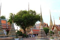 Señal del pho de Wat en Tailandia Imágenes de archivo libres de regalías