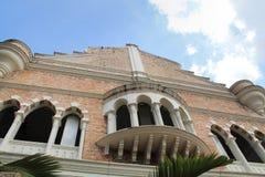 Señal famosa de Sultan Abdul Samad Building en Kuala Lumpur Fotografía de archivo