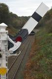Señal ferroviaria 02 Fotografía de archivo libre de regalías