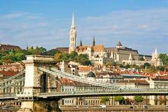 Señal húngara foto de archivo