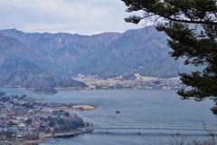 señal moutian de Japón de la nieve Fotos de archivo libres de regalías