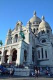 Señal popular de París Fotografía de archivo libre de regalías