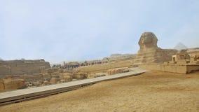 Señal principal de la necrópolis de Giza almacen de video