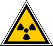 Señal radiactiva Fotografía de archivo