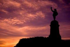 Señal Samuel De Champlain del punto de Ottawa Nepean Fotografía de archivo