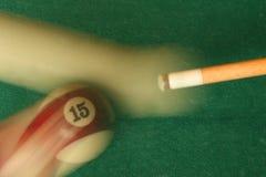 Señal y bola de piscina Fotos de archivo