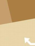 Señale la cubierta ilustración del vector