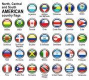 Señale los botones del Web por medio de una bandera