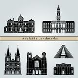 Señales de Adelaide V2 Imagenes de archivo