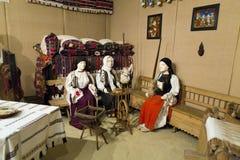 Señales de Alba Iulia - museo de la unión Fotos de archivo libres de regalías