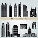 Señales de Atlanta stock de ilustración