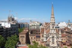 Señales de Barcelona Imagenes de archivo