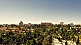 Señales de la ciudad vieja de Jerusalén Foto de archivo libre de regalías