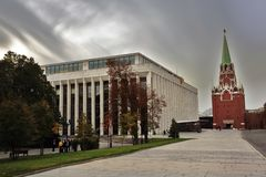Señales de Moscú el Kremlin Sitio del patrimonio mundial de la UNESCO fotografía de archivo libre de regalías