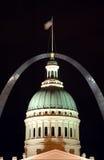Señales de St. Louis Fotos de archivo