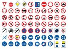Señales de tráfico Fotografía de archivo libre de regalías