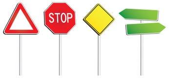 Señales de tráfico Fotografía de archivo
