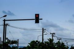 Señales del semáforo Fotografía de archivo