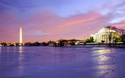 Señales del Washington DC Foto de archivo libre de regalías